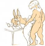 anal anal_penetration animate_inanimate anthro bent_over breasts carrot_cake_head duo erection female jintonic lagomorph looking_back male male/female mammal monochrome nude penetration rabbit sex tongue tongue_outRating: ExplicitScore: 3User: Cat-in-FlightDate: February 19, 2018