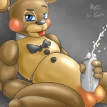 animatronic anthro balls bear bow claws cum cum_on_hand cum_on_leg cum_on_penis cumshot erection five_nights_at_freddy's five_nights_at_freddy's_2 looking_at_viewer machine male mammal masturbation nude orgasm penis robot rosy_cheeks sitting smile solo squint tongue tongue_out toy_freddy_(fnaf) video_games zekromlover  Rating: Explicit Score: 3 User: Tuck_In_Those_Glutes Date: August 18, 2015