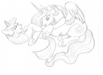 black_and_white crown cunnilingus cutie_mark duo equine eyelashes eyes_closed feathers female female/female feral friendship_is_magic fur hair horn mammal monochrome my_little_pony oral princess princess_celestia_(mlp) royalty sex sketch star sun tongue twilight_sparkle_(mlp) unicorn unknown_artist vaginal wing_boner winged_unicorn wings  Rating: Explicit Score: 3 User: Long_Fallen Date: September 20, 2011