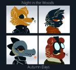 alligator angus_(nitw) ankh anthro bea_(nitw) bear canine cat cigarette clothing crocodilian demon_days dyed_fur eyewear fangs fedora feline fox frown glasses gorillaz gregg_(nitw) group hat hi_res hooded_jacket hoodie jacket leather leather_jacket logo mae_(nitw) mammal necktie night_in_the_woods parody reptile scales scalie scowling sharp_teeth simple_background smeefus-corn smile smoke smoking sweater symbol teeth top_hat whiskersRating: SafeScore: 16User: slyroonDate: April 03, 2017
