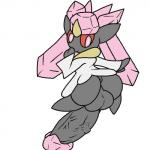 anus balls big_balls big_butt butt cyanzangoose diancie girly legendary_pokémon looking_back male nintendo penis pink_eyes pokémon red_sclera solo video_games   Rating: Explicit  Score: 1  User: Juni221  Date: June 15, 2014