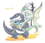 blue_eyes feral group japanese_text monster_racers open_mouth rakta scales simple_background text tongue tongue_out unknown_species white_background wings ローRating: SafeScore: 2User: JasperinityDate: March 29, 2017