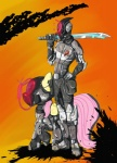 armor borderlands crossover duo equine female fluttershy_(mlp) friendship_is_magic hair horse my_little_pony pegasus pink_hair pony smile steptrool sword weapon wings zero_(borderlands_2)   Rating: Safe  Score: 19  User: Kein  Date: September 26, 2012