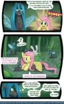 angel_(mlp) changeling comic english_text equine female fluttershy_(mlp) friendship_is_magic horn mammal my_little_pony pablofiorentino pegasus queen_chrysalis_(mlp) smile text trapped tumblr wings   Rating: Safe  Score: 1  User: darknessRising  Date: March 06, 2014