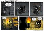 black_fur caught dialog feline fire fur gamer_cat gold human male mammal samantha_whitten text thief torch   Rating: Safe  Score: 11  User: K4RN4GE911  Date: April 24, 2014