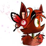 animatronic arthropod butterfly canine caramelcraze eye_patch eyewear five_nights_at_freddy's fox foxy_(fnaf) insect machine mammal robot solo video_games yellow_eyes  Rating: Safe Score: 0 User: Kario-xi Date: August 02, 2015