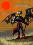 anthro canine corset destinas female fox glowing glowing_eyes grass hair mammal melee_weapon red_sun scythe solo unknown_artist weapon white_hair wings  Rating: Questionable Score: 1 User: Arcadia Date: February 22, 2011