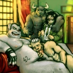 blazingcheecks bovine cattle chubby cum erection feline group hairy lion male male/male mammal oral overweight penis sex smoke smoking  Rating: Explicit Score: 12 User: totemal Date: November 21, 2013