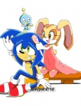 anthro blue_fur brown_eyes chao cheese_the_chao cream_the_rabbit embarrassed female fur green_eyes group hedgehog lagomorph male mammal rabbit sonic_(series) sonic_the_hedgehog unknown_artist young  Rating: Safe Score: 2 User: ranksgiving Date: October 07, 2012