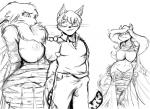 2015 animaniacs anthro areola bandai big_breasts breasts captured cat crossover digimon erect_nipples feline female grope male mammal minerva_mink mink mustelid nipples nude pussy renamon yawg   Rating: Explicit  Score: 5  User: Robinebra  Date: March 27, 2015