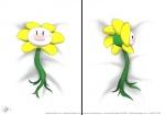 2015 bed_sheet blush dakimakura_design flower flowey_the_flower laahgata looking_at_viewer plant undertale video_games  Rating: Safe Score: 9 User: Neitsuke Date: November 23, 2015