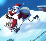 2015 anthro babynarwhal cartoon_network christmas costume duo holidays mordecai_(regular_show) regular_show rigby_(regular_show) santa_costume  Rating: Safe Score: 1 User: GuavaStealer Date: February 19, 2016
