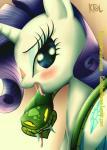 2014 blush equine female feral friendship_is_magic horn horse mammal my_little_pony pshyzo rarity_(mlp) reptile scalie snake unicorn   Rating: Safe  Score: 5  User: Robinebra  Date: November 16, 2014