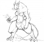 breasts female higoro kemono monochrome monster   Rating: Safe  Score: 1  User: KemonoLover96  Date: April 28, 2015