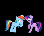 absurd_res alpha_channel blue_fur cutie_mark duo equine female feral friendship_is_magic fur hair hi_res horn mammal multicolored_hair my_little_pony pegasus purple_fur rainbow_dash_(mlp) rainbow_hair tongue twilight_sparkle_(mlp) unicorn wings   Rating: Safe  Score: 3  User: GizemYorganci  Date: May 21, 2013