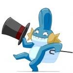 animated cane dancing derp hat male mudkip nintendo plain_background pokémon solo top_hat video_games white_background zeurel   Rating: Safe  Score: 1  User: SoulDragon  Date: September 20, 2010