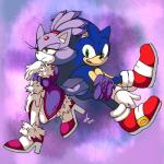 2015 anthro blaze_the_cat blue_body blush cat clothed clothing duo feline fur green_eyes hedgehog mammal purple_fur sonic_(series) sonic_the_hedgehog unknown_artist yellow_eyes  Rating: Safe Score: 6 User: Rad_Dudesman Date: March 05, 2015