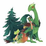 flora_fauna grovyle nintendo plant pokémon pokémon_(species) sceptile treecko video_games zestyRating: SafeScore: 5User: Rad_DudesmanDate: February 18, 2018