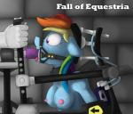 2014 anthro anthrofied bound breasts collar dildo dungeon equine fall_of_equestria female forced friendship_is_magic fucking_machine gag hair machine mammal mechanical multicolored_hair my_little_pony nipples nude oral pegasus pentoolqueen purple_eyes rainbow_dash_(mlp) rainbow_hair ring_gag saliva sex sex_toy slave solo text tongue tongue_out wings   Rating: Explicit  Score: 14  User: 2DUK  Date: November 16, 2014