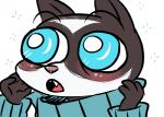 2016 anthro blush clothed clothing cute_fangs disney fan_character inkyfrog male mammal mustelid open_mouth percy_vison polecat simple_background solo teal_eyes white_background wide_eyed zootopiaRating: SafeScore: 0User: JAKXXX3Date: December 08, 2016