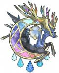 ambiguous_gender antlers blue_eyes horn kann1kura_(kanna) legendary_pokémon looking_at_viewer nintendo plain_background pokémon solo video_games xerneas   Rating: Safe  Score: 6  User: DeltaFlame  Date: October 18, 2014