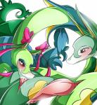 2016 absurd_res animal_genitalia animal_penis blush cloaca cum cum_in_mouth cum_inside duo ear_bow erection fellatio feral girly hi_res male male/male nintendo oral penis pokémon red_eyes reptile ribbons scalie serperior sex simple_background snake suddenhack video_games white_background  Rating: Explicit Score: 4 User: voldosbt Date: May 06, 2016