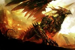 amazing ambiguous_gender armor castle dragon feral fire guild_wars kekai_kotaki machine scalie solo video_games wings  Rating: Safe Score: 44 User: Riversyde Date: November 28, 2010