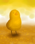 2011 ambiguous_gender avian beak bird chicken feathers feral outside rozga sky solo standing warm_colors yellow_feathers yellow_themeRating: SafeScore: 2User: TonyLemurDate: May 07, 2011