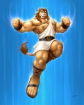 anthro braford feline lion male mammal muscles solo  Rating: Safe Score: 1 User: Vinea Date: August 04, 2015