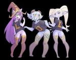 2016 alpha_channel anthro blonde_hair bottomless breasts butt clothed clothing digital_media_(artwork) ear_piercing eyewear female goggles green_eyes group hair hat humanoid league_of_legends legwear long_hair lulu_(lol) mammal open_mouth piercing poppy purple_eyes purple_hair purple_skin pussy shirt_pull short_hair simple_background smile stockings teeth thepinkpirate thigh_highs tongue transparent_background tristana video_games white_hair yellow_eyes yordle  Rating: Explicit Score: 13 User: NarcolepsyStorm Date: February 12, 2016
