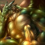 2014 abs anthro balls biceps big_balls big_muscles big_penis bristles dragon erection fangs horn huge_muscles looking_at_viewer male muscular muscular_male nude open_mouth pecs penis scalie solo thick_penis wings  Rating: Explicit Score: 9 User: Krazark Date: September 13, 2015