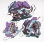9_6 all_fours blush doggystyle duo eeveelution female feral from_behind legendary_pokémon male male/female mammal nintendo penetration penis pokémon pussy sex suicune umbreon vaginal vaginal_penetration video_games  Rating: Explicit Score: 5 User: cantremember Date: August 29, 2015