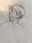 female hood horn leval lizard pencil_sketch reptile scalie unknown_artist   Rating: Safe  Score: 1  User: lilalbino64  Date: March 29, 2015