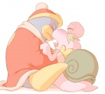 blush duo escargoon eyes_closed facial_hair gastropod goatee king_dedede kirby_(series) kissing male male/male nintendo saliva saliva_string snail sweat tongue unknown_artist unknown_fluid video_games  Rating: Questionable Score: 4 User: rakushun Date: August 02, 2014