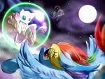 being_watched bubble crossover equine female feral friendship_is_magic frist44 horse legendary_pokémon mammal mew moon my_little_pony nintendo pegasus pokémon pony rainbow_dash_(mlp) shaggy shield video_games wings   Rating: Safe  Score: 8  User: darknessRising  Date: April 29, 2013
