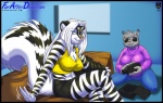 anthro big_breasts blue_eyes breasts cleavage clothed clothing erect_nipples eyewear feline female furafterdark grey_hair hair lynx mammal max_blackrabbit nipples skunk smile sunglasses tina_lynx white_hair zig_zag   Rating: Safe  Score: 6  User: Robinebra  Date: February 17, 2013
