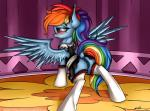 2015 absurd_res alternate_hairstyle anus blue_fur blush butt clothing dock equine female feral friendship_is_magic fur hair hair_bow hi_res legwear maid maid_uniform mammal multicolored_hair my_little_pony neko-me pegasus pink_eyes ponytail pussy pussy_juice rainbow_dash_(mlp) rainbow_hair rainbow_tail solo spread_wings thigh_highs wings  Rating: Explicit Score: 18 User: ultragamer89 Date: September 21, 2015