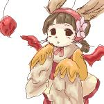 2008 :o antennae anthro bangs black_eyes black_nose blunt_bangs blush brown_fur brown_hair buumin cheek_tuft clothed clothing digital_drawing_(artwork) digital_media_(artwork) dress eyebrows female final_fantasy final_fantasy_xii flower flying front_view fully_clothed fur gurdy_(final_fantasy) hair hood humanoid_face kemono long_ears long_sleeves looking_at_viewer low_res mammal membranous_wings moogle multicolored_fur oekaki open_mouth plant pom_antenna red_wings ribbons short_hair simple_background small_nose solo square_enix tuft two_tone_fur video_games whiskers white_background white_fur wingsRating: SafeScore: 4User: SchuppoDate: September 15, 2017