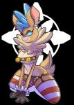 :3 anthro antlers bell blue_eyes breasts brown_fur cervine chest_tuft christmas clothing female fur holidays horn legwear mammal no_pupils reindeer simple_background smile snappygrey solo stockings them's_fightin'_herds thick_thighs tuft velvet_reindeer_(tfh)  Rating: Questionable Score: 16 User: Pawn Date: March 02, 2016