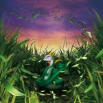 ambiguous_gender detailed_background feral grass hi_res leaves nintendo official_art pokémon red_eyes reptile scalie serperior snake solo video_games wind  Rating: Safe Score: 15 User: Rad_Dudesman Date: January 29, 2016