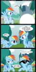 2012 comic cutie_mark dialogue english_text equine eyewear female feral friendship_is_magic hair mammal multicolored_hair my_little_pony outside pegasus rainbow_dash_(mlp) rainbow_hair sunglasses text time_travel tree veggie55 wings wood   Rating: Safe  Score: 15  User: 2DUK  Date: March 11, 2012