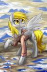 2014 blonde_hair clothing cloud cutie_mark derpy_hooves_(mlp) equine female friendship_is_magic hair hobbes_maxwell hoodie looking_up mammal my_little_pony pegasus solo standing wings yellow_eyes  Rating: Safe Score: 16 User: 2DUK Date: August 03, 2014
