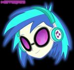 blue_hair equestria_girls equine eyewear female glasses hair headphones horse human mammal my_little_pony notsid23 pony vinyl_scratch_(eg)   Rating: Safe  Score: -3  User: notsid23  Date: April 24, 2014