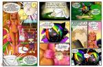 alternate_color canine cat comic digital_media_(artwork) eevee english_text fan_character feline female feral fox fur green_eyes hair hi_res lady_lo lagomorph looking_at_viewer lopunny mammal nintendo open_mouth pokémon pokémon_mystery_dungeon purrloin raven_eevee raveneevee shiny_pokémon smile standing text tongue video_gamesRating: SafeScore: 2User: RavenEeveeDate: January 03, 2017
