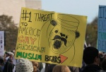 america bear facial_hair humor mammal mexican muslim mustache poster rally rally_to_restore_sanity_and/or_fear satire sign turban united_states_of_america usa   Rating: Safe  Score: 20  User: Munkelzahn  Date: June 06, 2011