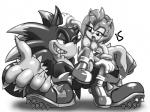 amy_rose anthro breasts duo erection female half-closed_eyes hedgehog is_(artist) male male/female mammal monochrome nipples open_mouth penetration penis pussy sex sonic_(series) sonic_the_werehog vaginal vaginal_penetration werehog   Rating: Explicit  Score: 8  User: heyowakka  Date: November 24, 2014