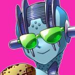 1:1 eyewear humanoid jojo's_bizarre_adventure kamiura_(artist) low_res not_furry pink_background simple_background smile solo stand_(jjba) stone_free sunglassesRating: SafeScore: 31User: Hairy13Date: October 22, 2017