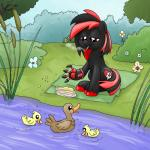 absurd_res avian bird black_fur cigarette cyborg duck equine fan_character flower food fur group hi_res horse male mammal my_little_pony nazi outside plant pony red_eyes smoking smudge_proof tree water   Rating: Safe  Score: -1  User: Ciderlove  Date: August 13, 2014