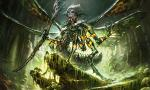 arthropod insect magic_the_gathering mask mathias_kollros mold official_art priest solo staff wings  Rating: Safe Score: 2 User: Shardshatter Date: November 03, 2015