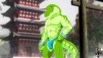 2012 abs anthro biceps bulge clothed clothing dinosaur fabfelipe fangs flexing fundoshi green_skin half-dressed looking_at_viewer male muscular outside pecs pose raised_tail scales scalie smile solo standing teeth toned topless tyrannosaurus_rex underwear yellow_eyes  Rating: Questionable Score: 4 User: zaderion Date: December 24, 2014